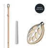 Bijuterie Smart Fitness Leaf Nature Silver Bellabeat